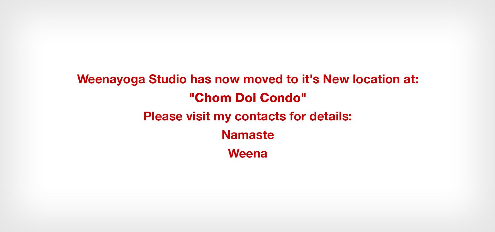 Weena Yogasana - News & Updates
